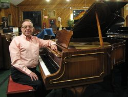 Learn to play the piano with Ralph Cox.